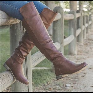 Brand new over the knee riding boots